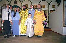 Хор прихода храма святого Александра Невского в Вербилках 2004 года